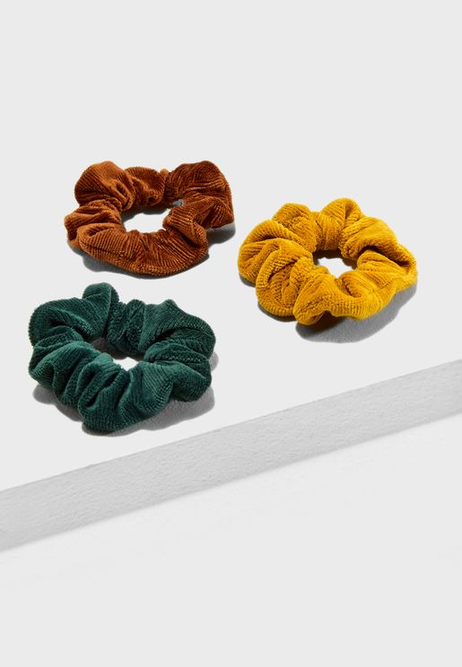 3 Pack Cord Scruchies