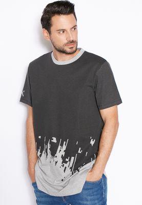 King 8 Bit Long Line T-Shirt