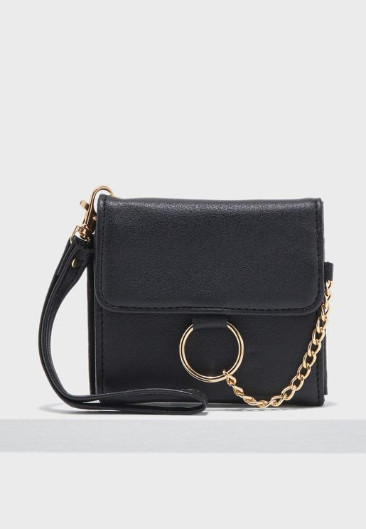 Small Flap Over Chain Purse