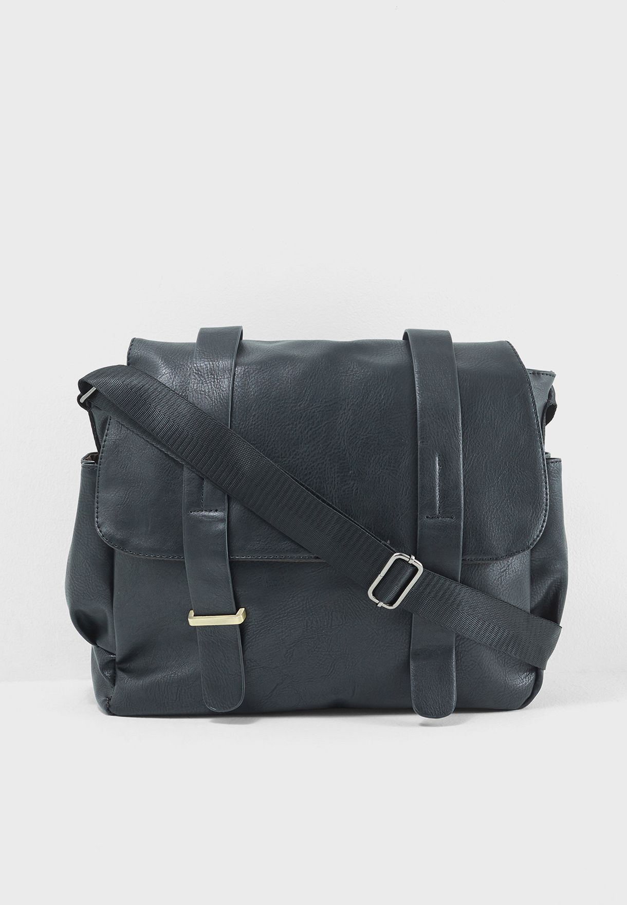Double Buckle Messenger