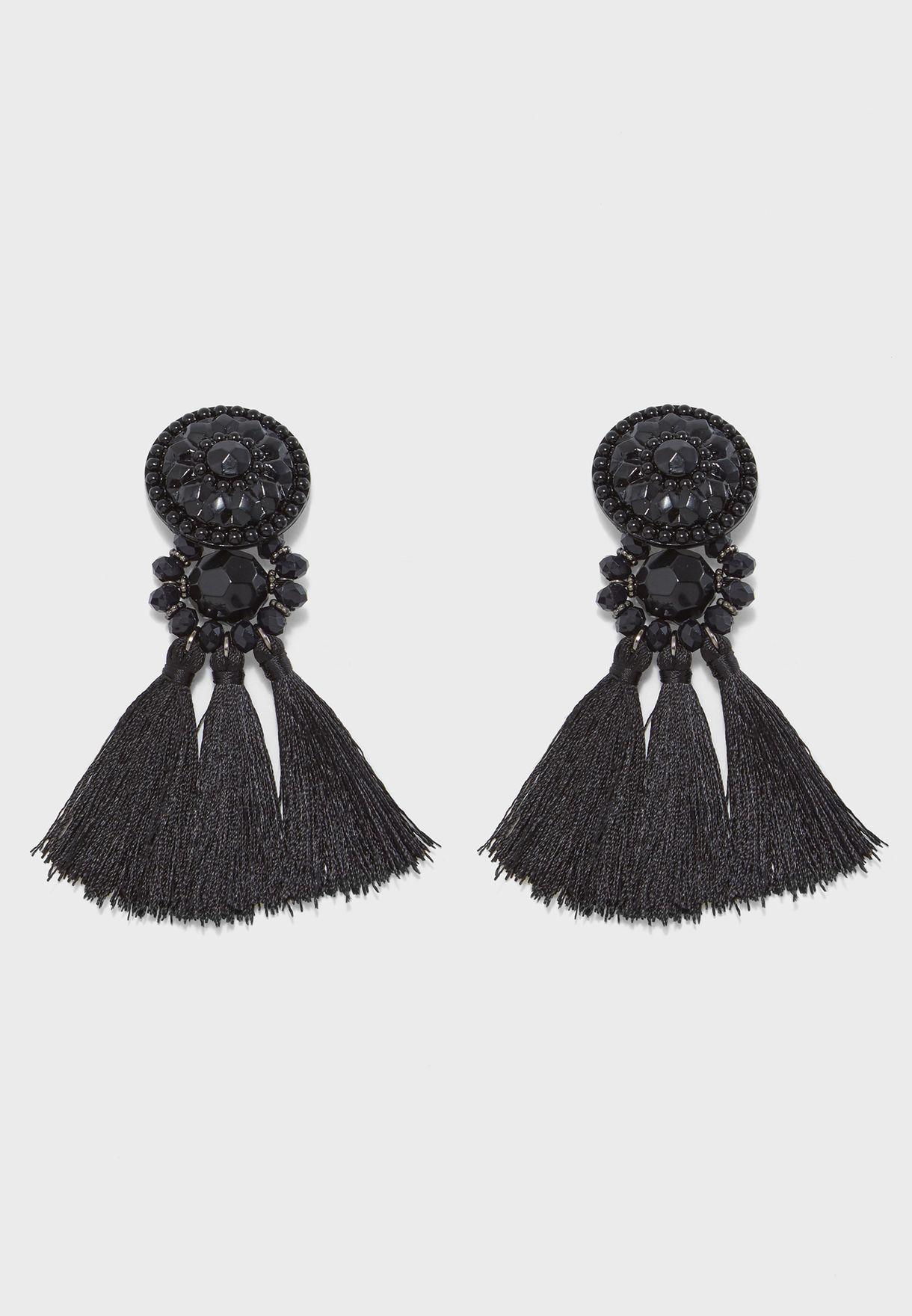 Seaford Tassel Earrings