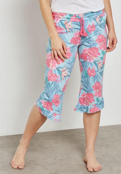 Floral Printed Pyjama