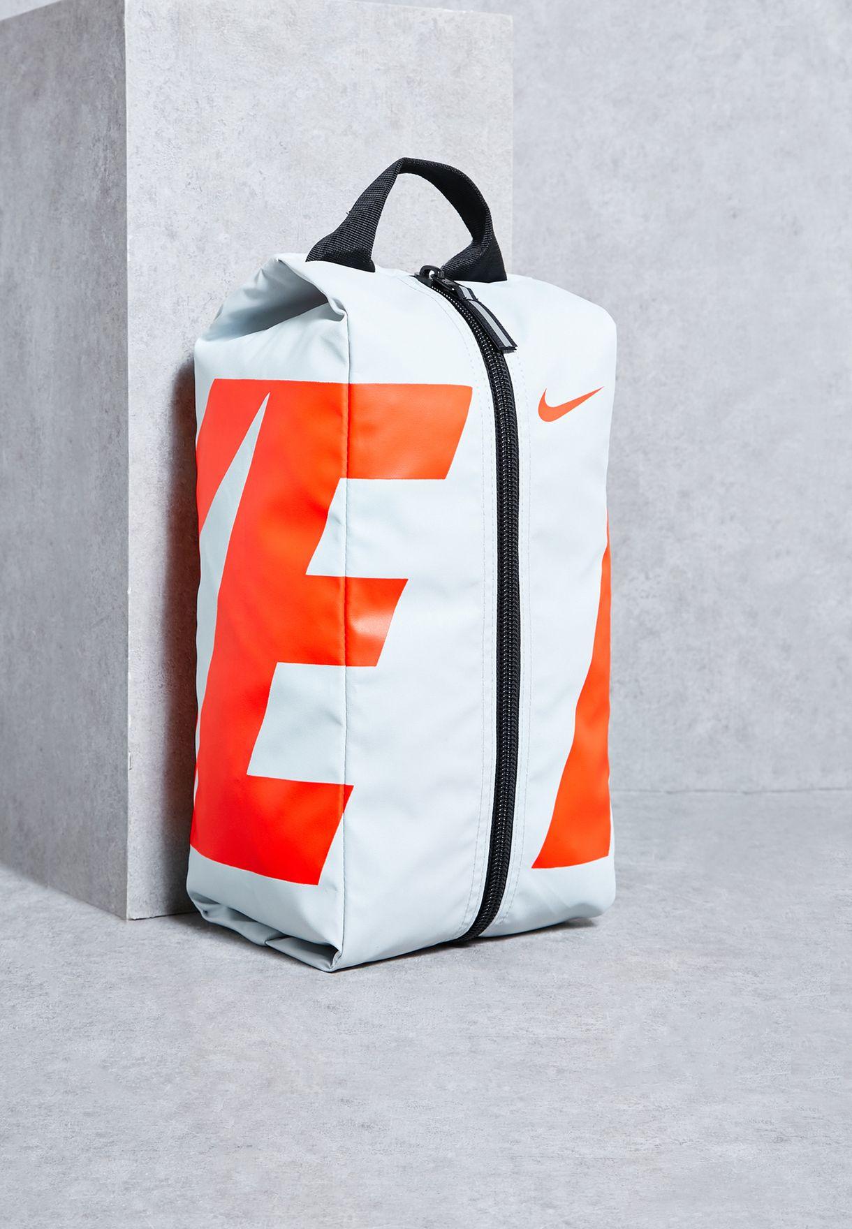 Buy Nike grey Alpha Shoe Bag for Men in