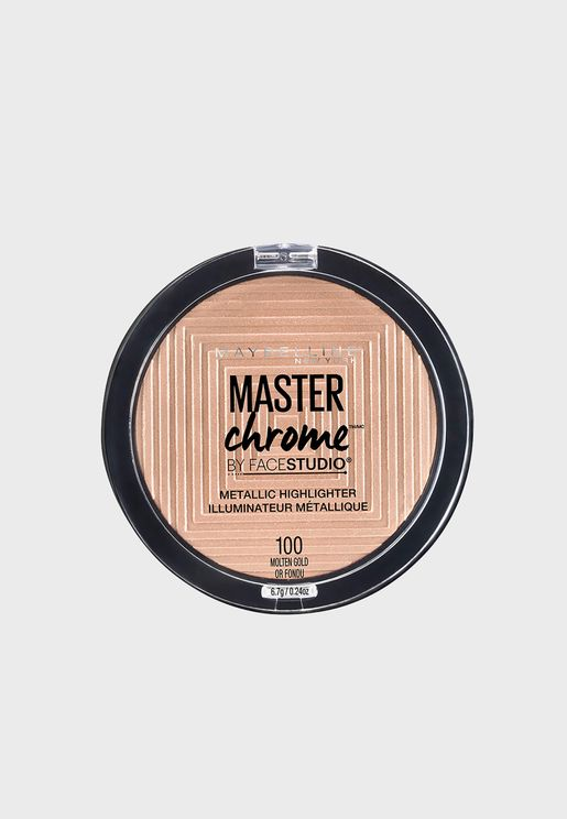 Master Chrome Bronzer and Highlighter Metal 100 Molten Gold