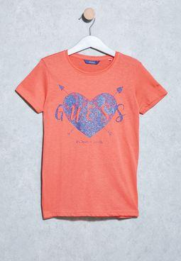 Youth Heart Tshirt