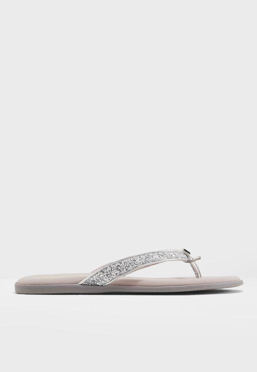 Bondi Glitter Strap Sandals