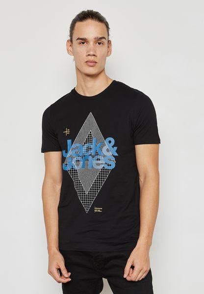 Geometry Printed T-Shirt