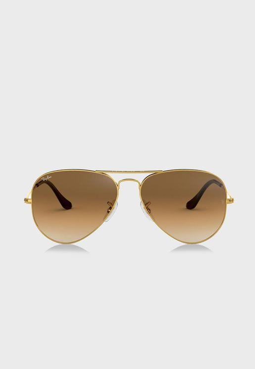 نظارة شمسية متدرجة