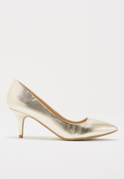 Dakota Low Heel Court Shoes