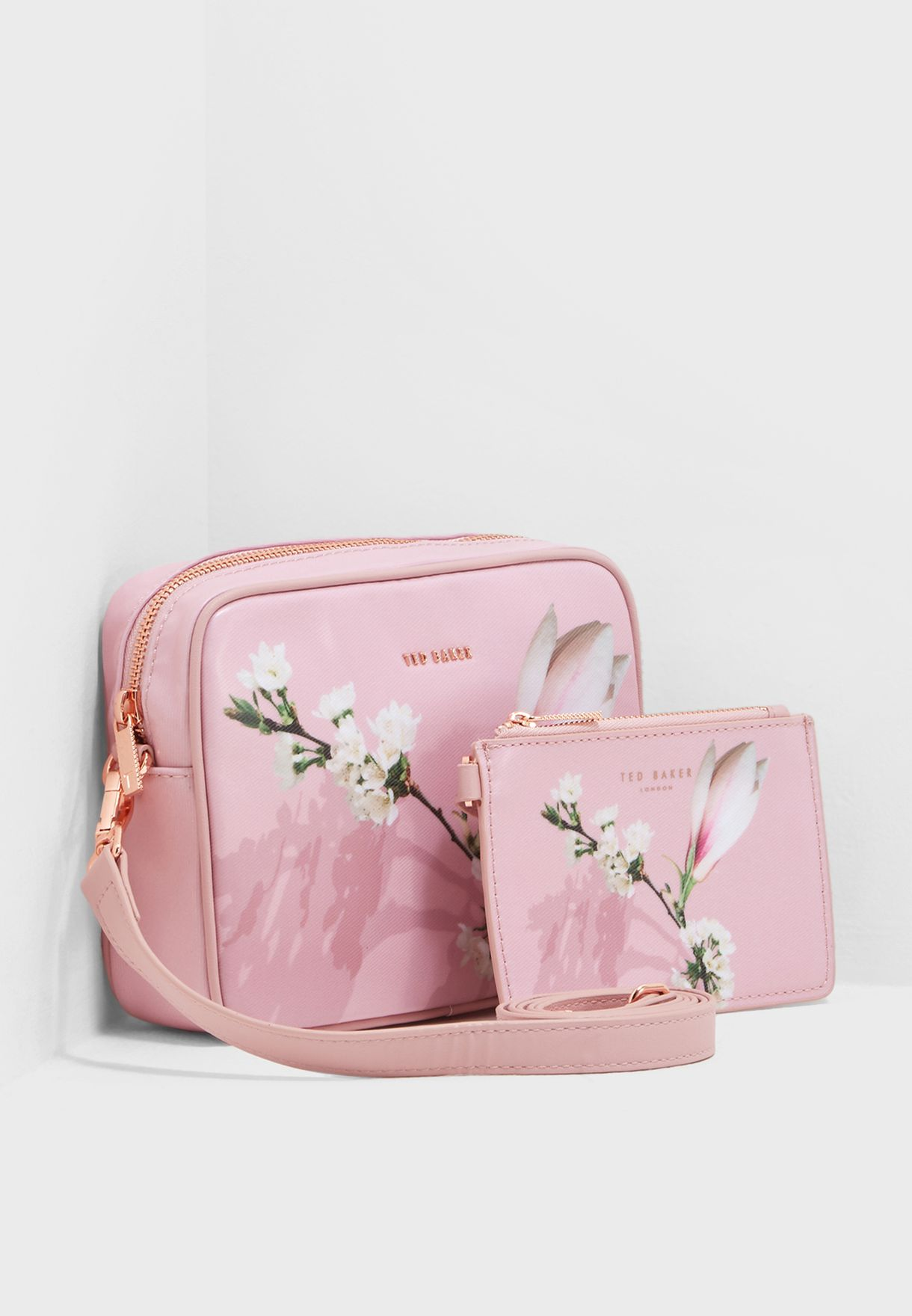 6a8773654 Shop Ted baker prints Harmony Coated Crossbody 147029 for Women in ...