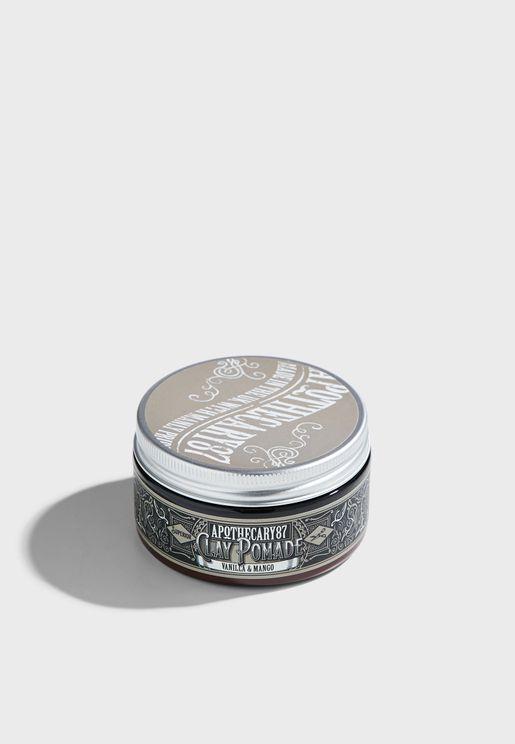 Clay Pomade - A Vanilla & Mango Fragrance