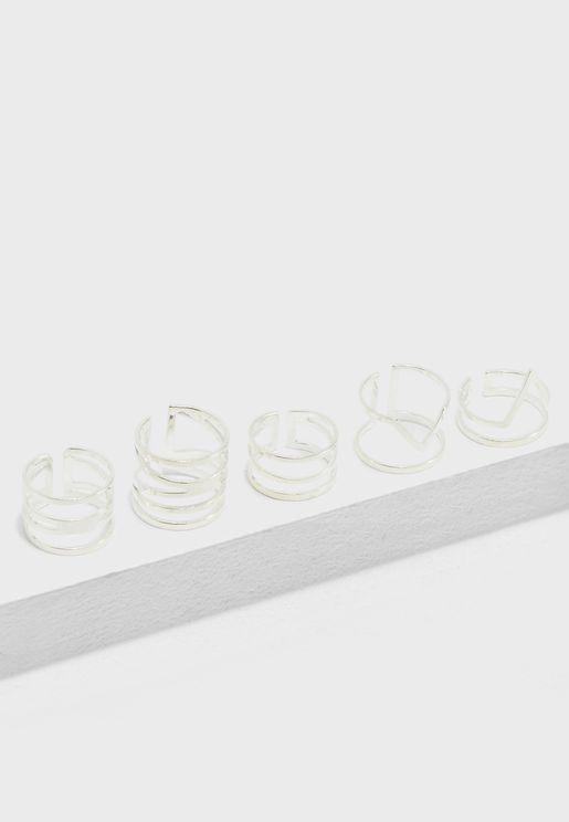 Cutout Ring Set