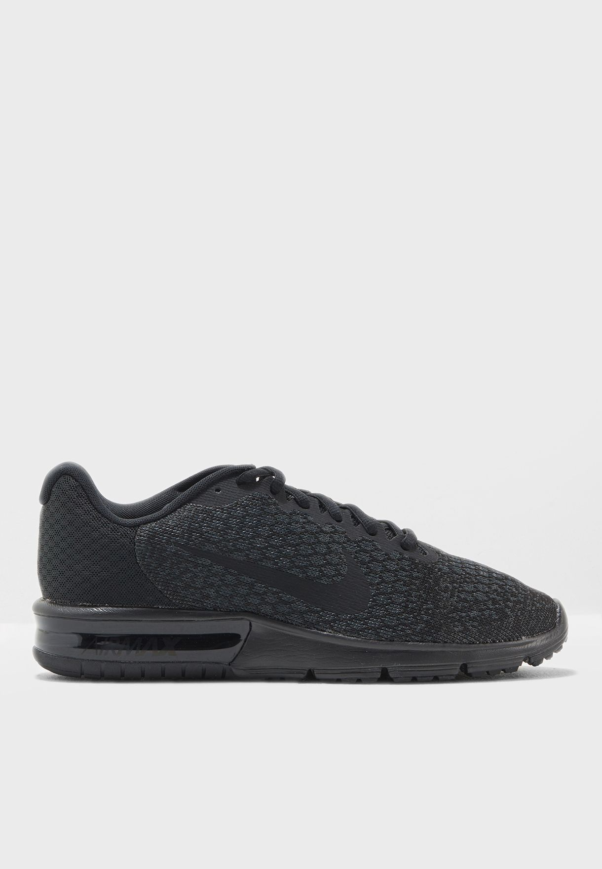2405c4bb3ade4 Shop Nike black Air Max Sequent 2 852461-015 for Men in UAE ...