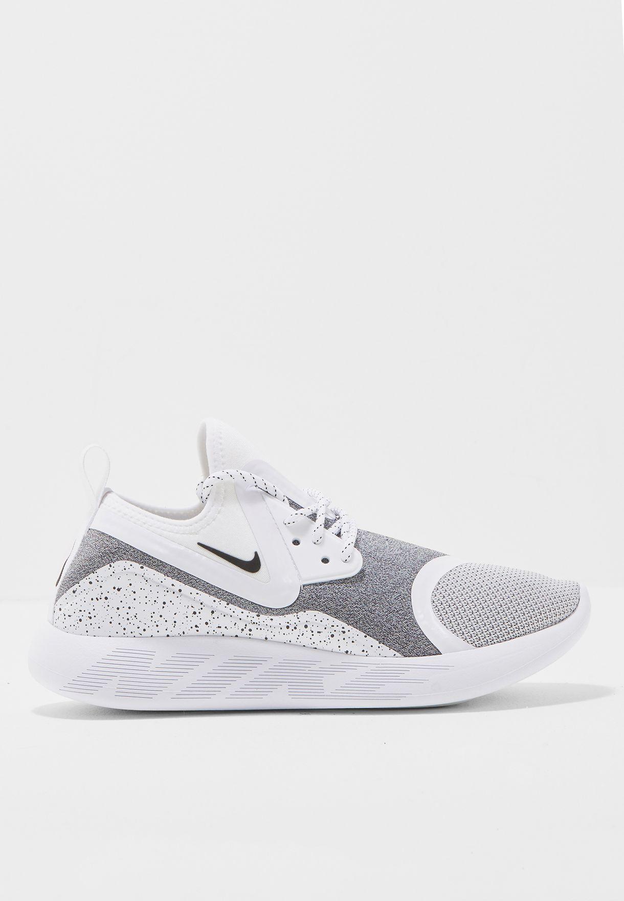 1fcfd0361b Shop Nike white Lunarcharge Essential 923620-100 for Women in UAE ...