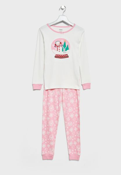 Teeen Sweatshirt + Sweatpants Set