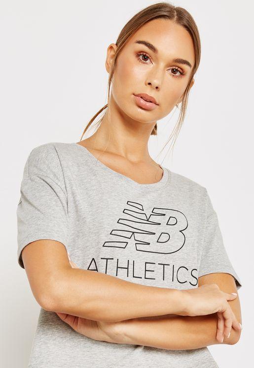 Athletics Cropped T-Shirt