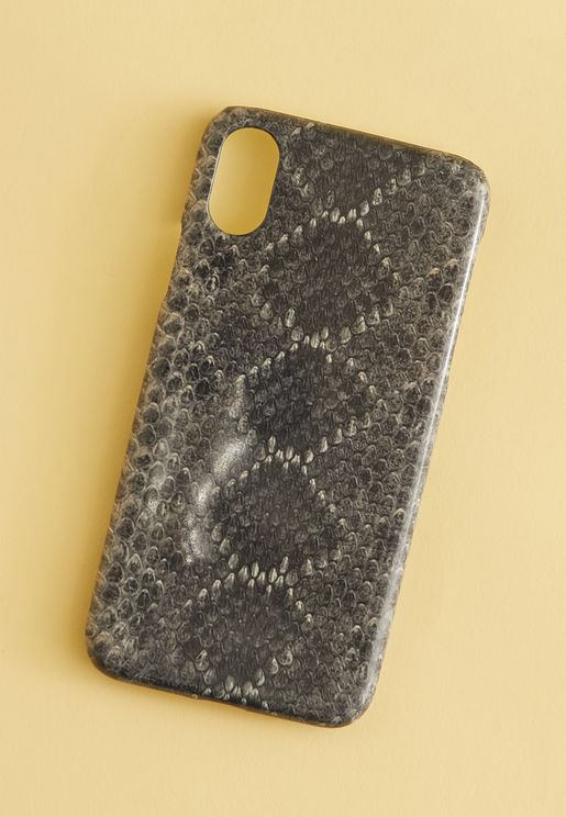 Snakeskin Print iPhone XS/X Case