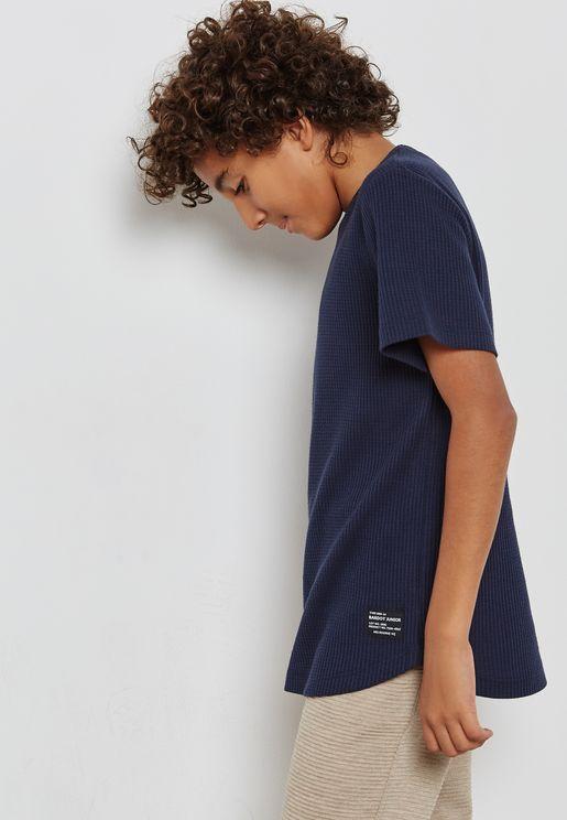 Teen Waffle T-Shirt