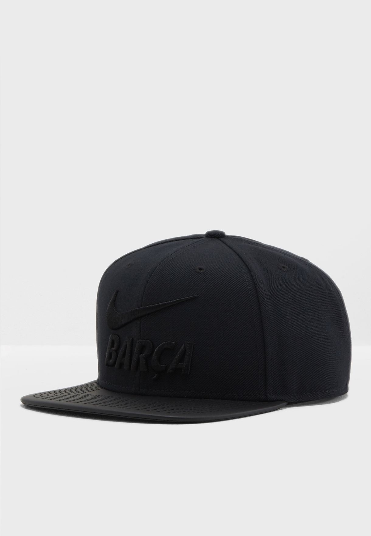 Shop Nike black FC Barcelona Pro Cap 916568-010 for Men in UAE ... 0a790289d9a2