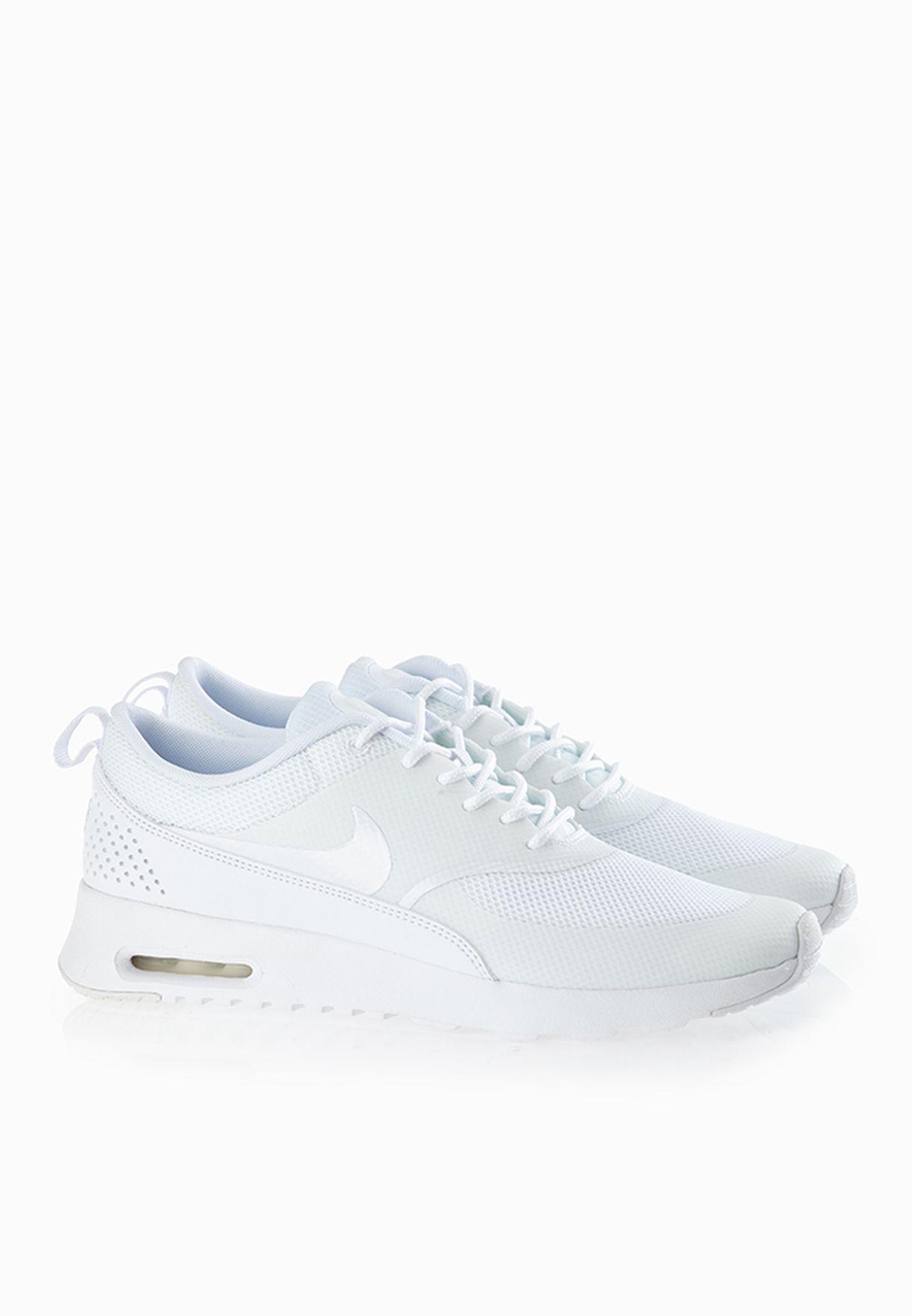 e194e598 Shop Nike white Air Max Thea Sneakers 599409-101 for Women in ...