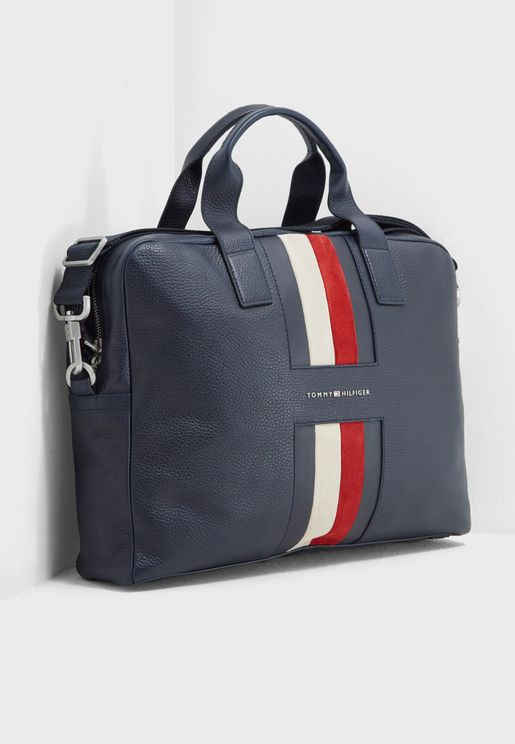 Heritage Stripe Laptop Bag