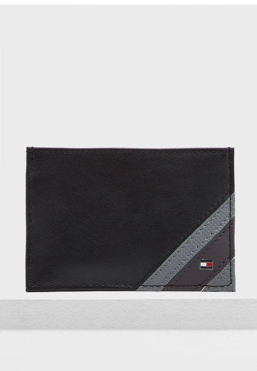 Edge Stripe Credit Card Holder