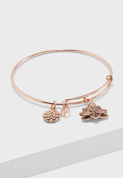 Bodhi Lotus Flower Expandable Bracelet
