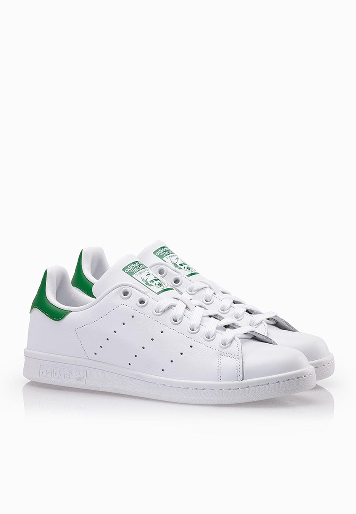 d5dd461ea تسوق حذاء Stan Smith ماركة اديداس اورجينال لون أبيض M20324 في ...