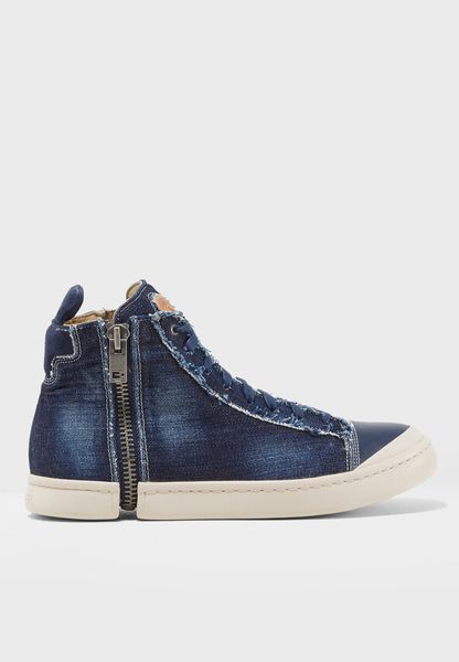 S-Nentish Side Zip Sneakers