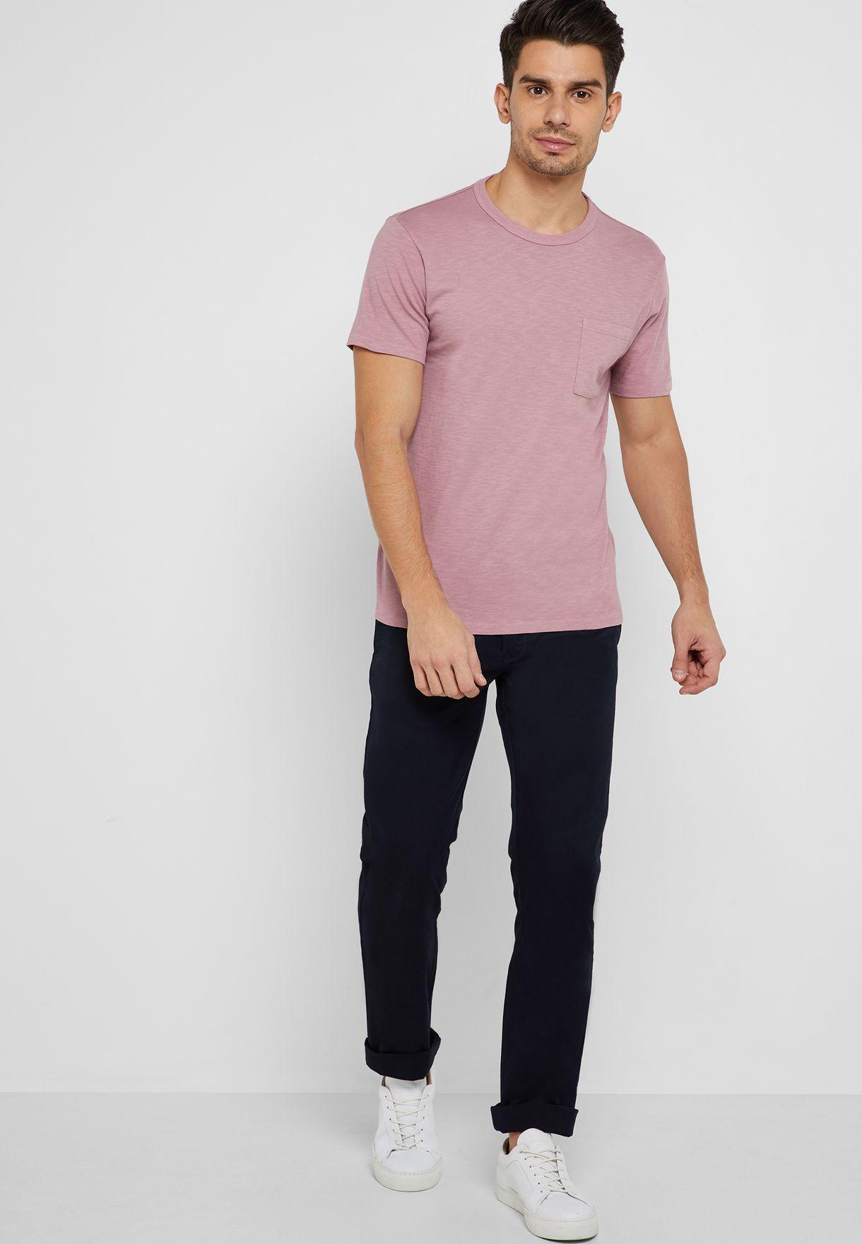 Slim Fit Stretch Trousers