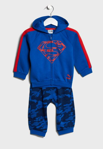 Infant Justice League Jogger Set