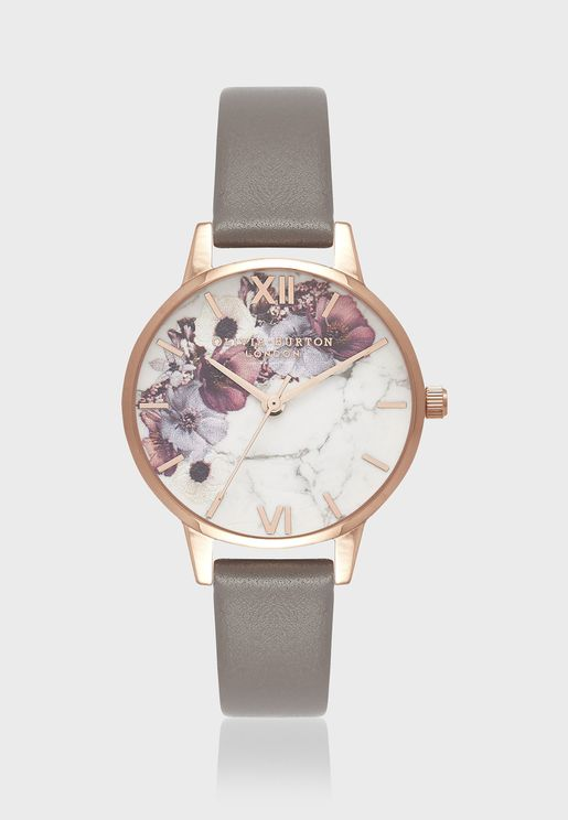 Marble Florals Watch