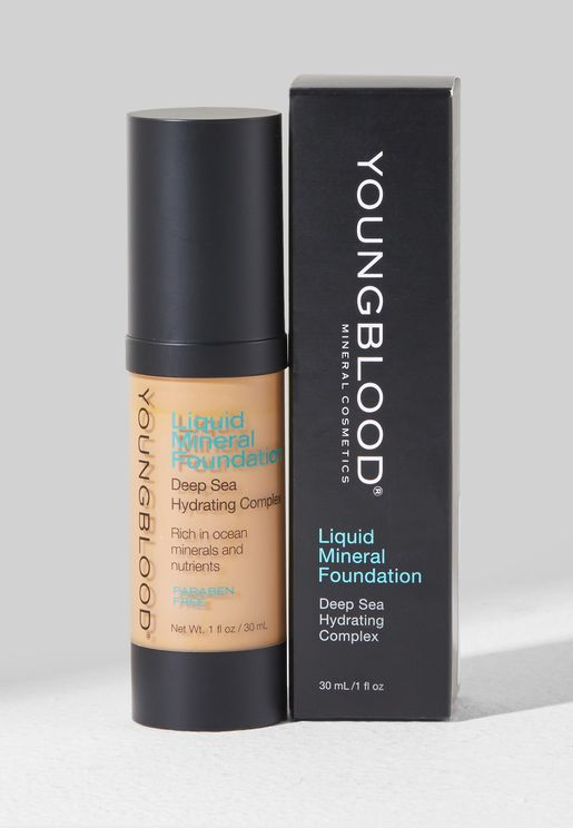 Carribean Liquid Mineral Foundation