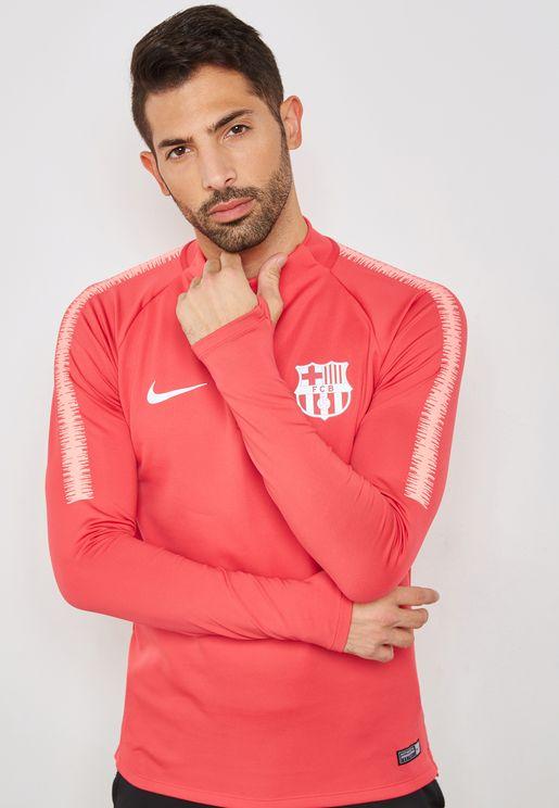 FC Barcelona Squad Drill Sweatshirt