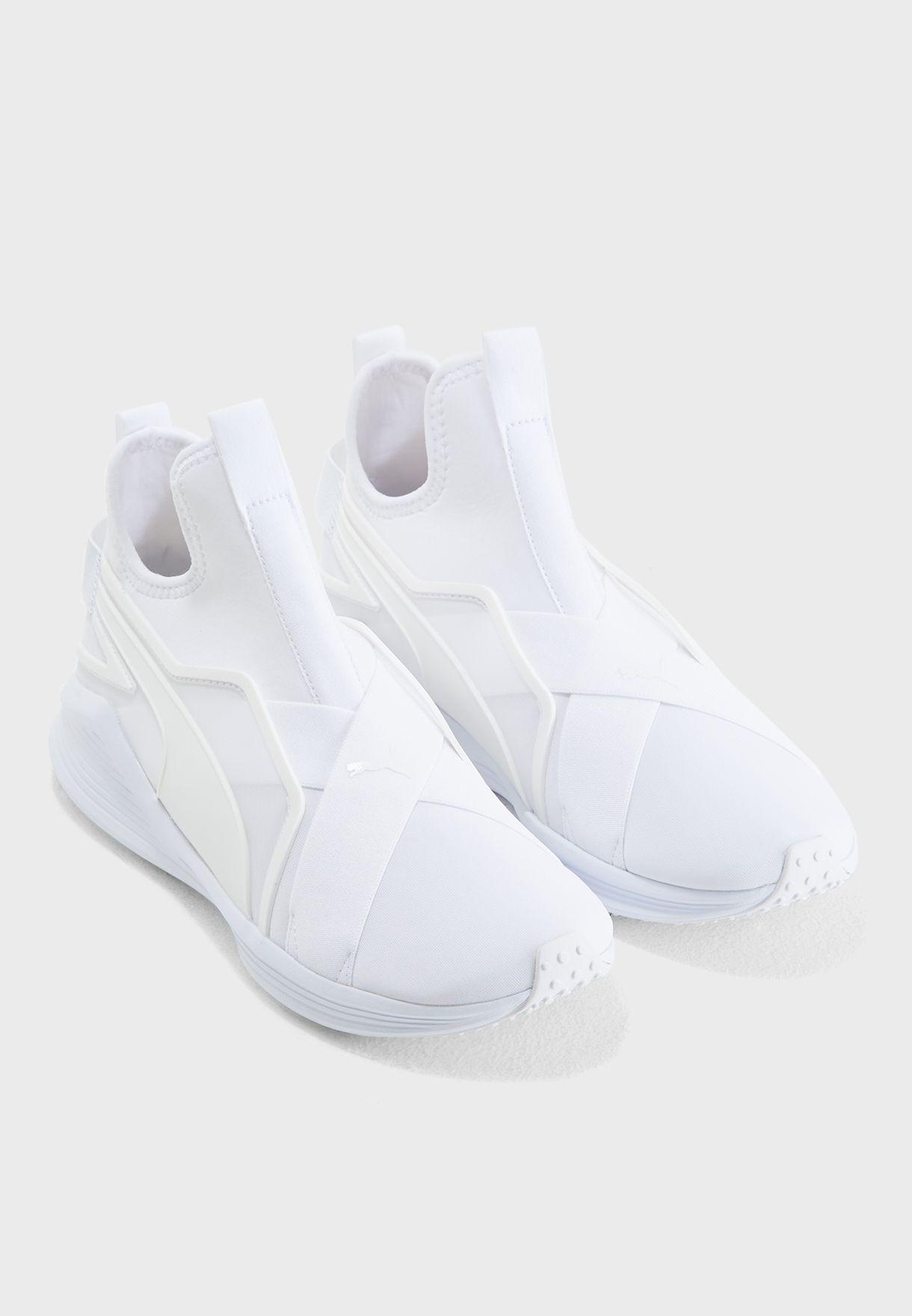 Buy PUMA white Fierce Sleek for Women