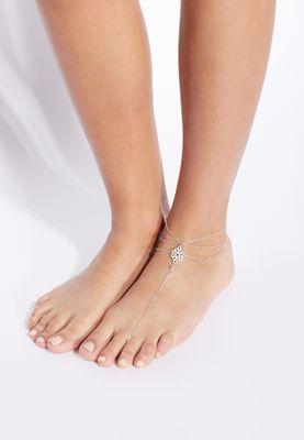 Ella Multi Layered Anklet