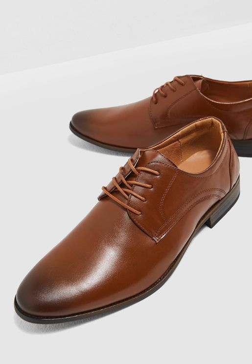 Formal Derby Lace Ups