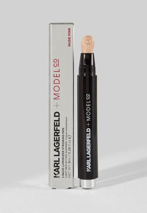 Liquid Luminizer Strobing Pen - NUDE PINK