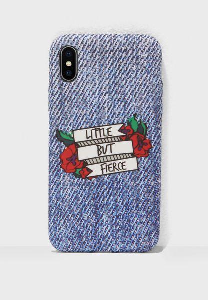 Little But Fierce iPhone X Case