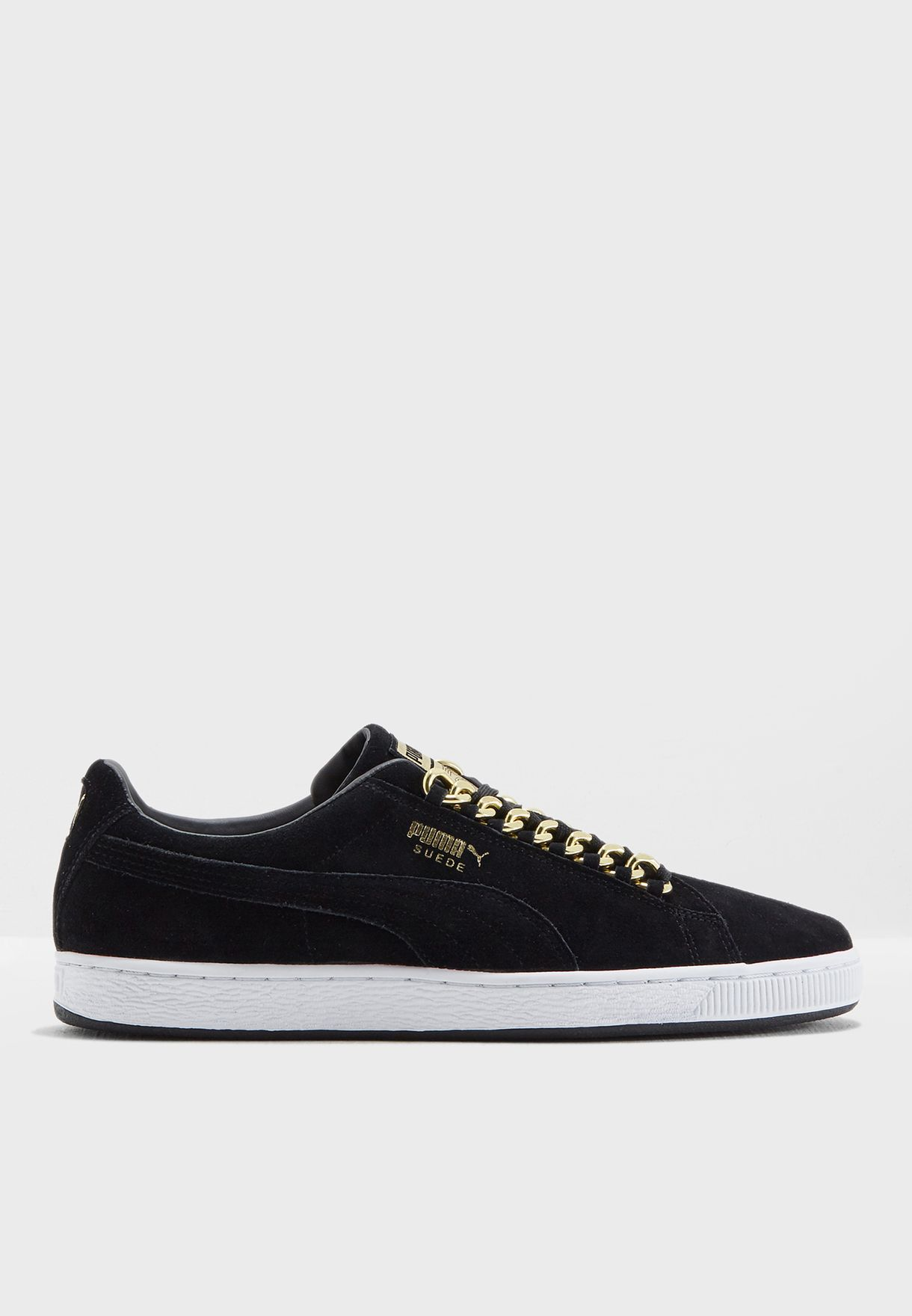 Shop PUMA black Suede Classic x Chain 36739103 for Men in Saudi ... 1df51d115