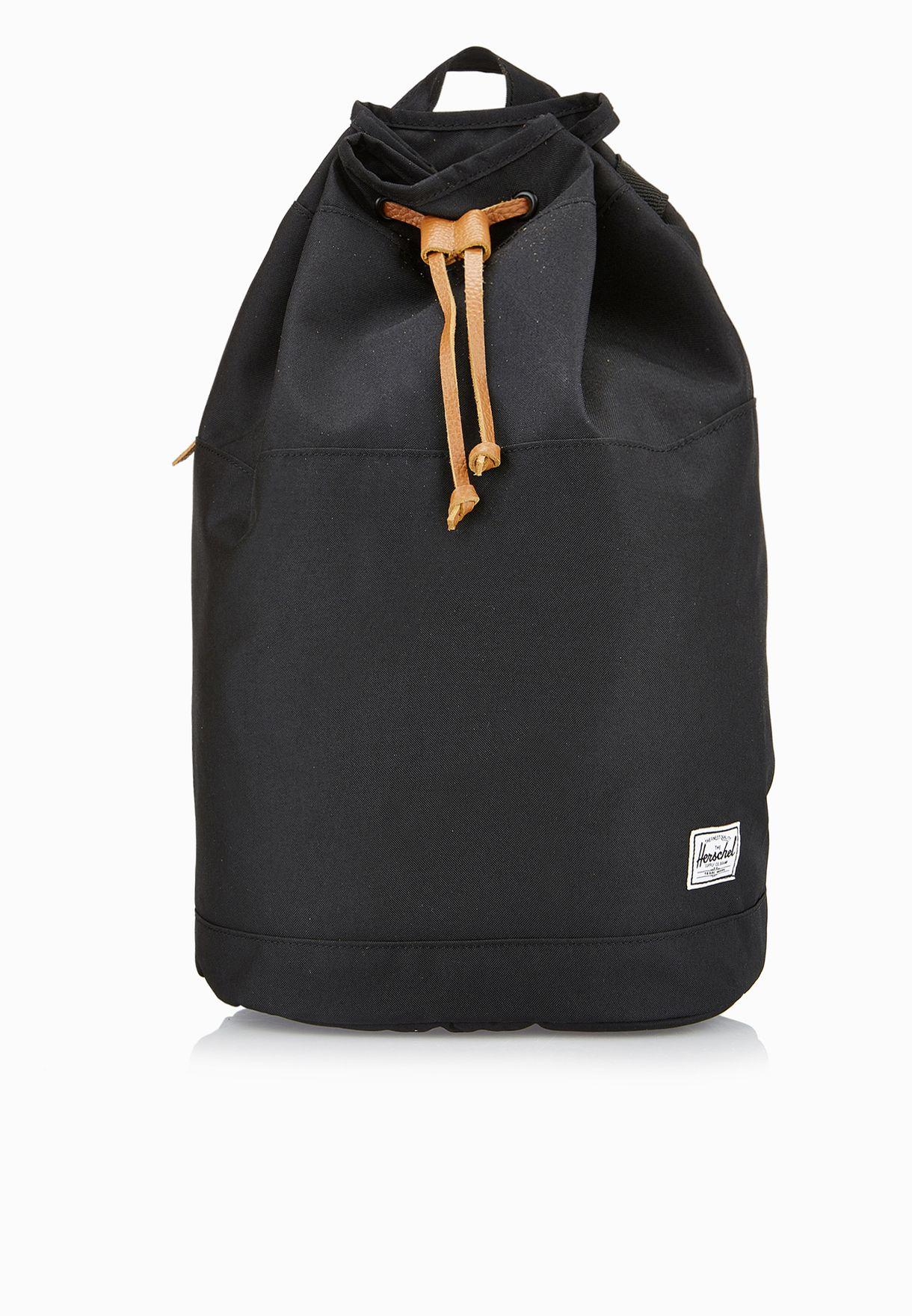 d475f73b877 Shop Herschel black Hanson Backpack 10214-00797-OS for Women in UAE ...