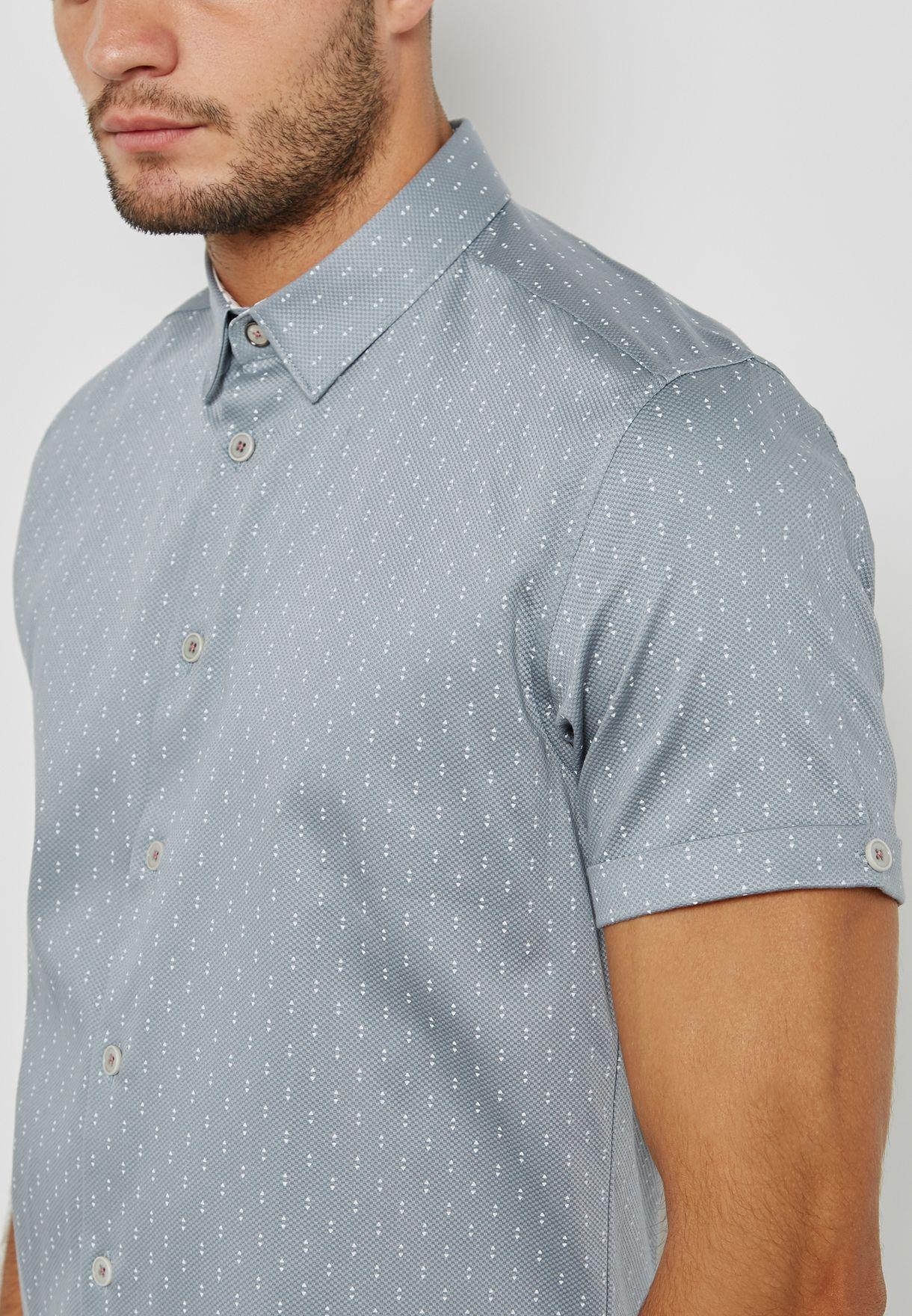 قميص كاجوال بطبعات