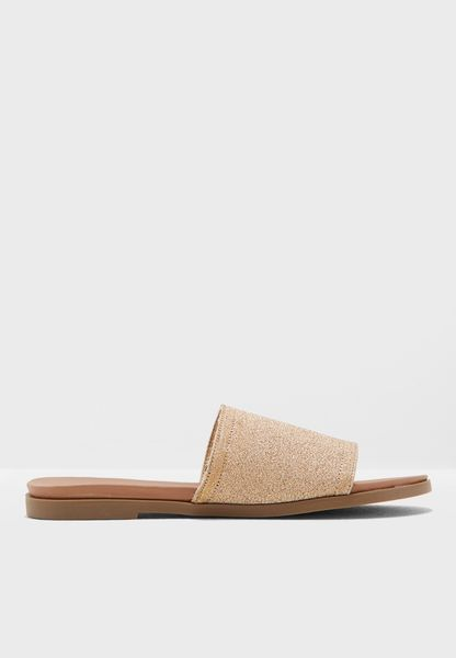 Wide Fit Flame Flat Sandal