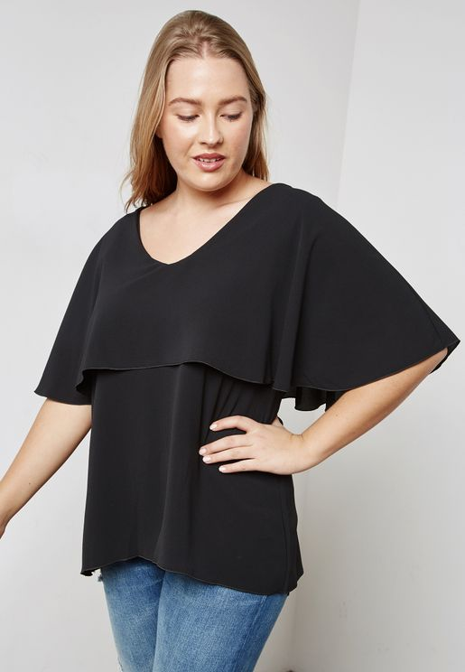 Cape Style Top