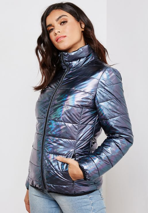 Shimmer Quilted Jacket