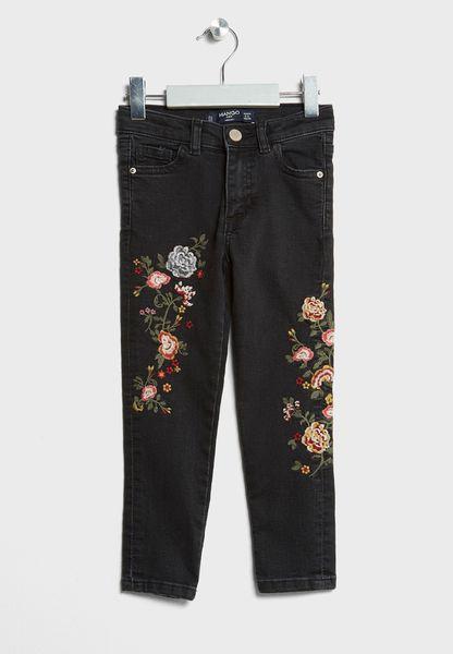 Little Floral Jeans