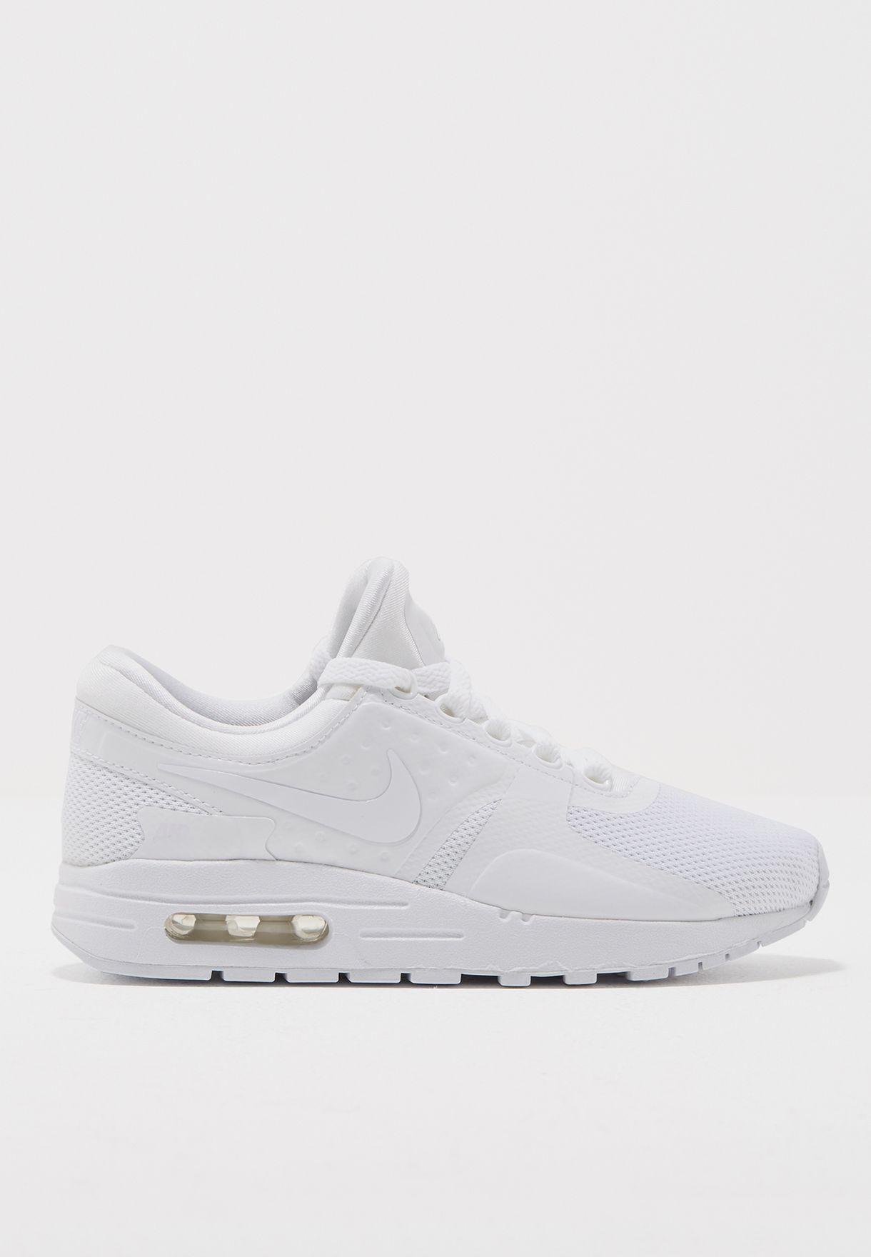 0f96ec49a2 Shop Nike white Air Max Zero Essential Youth 881224-100 for Kids in UAE -  NI727SH43PXC