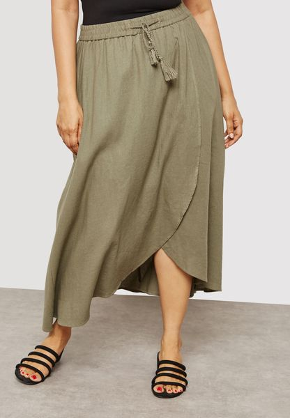 Tassel Maxi Skirt