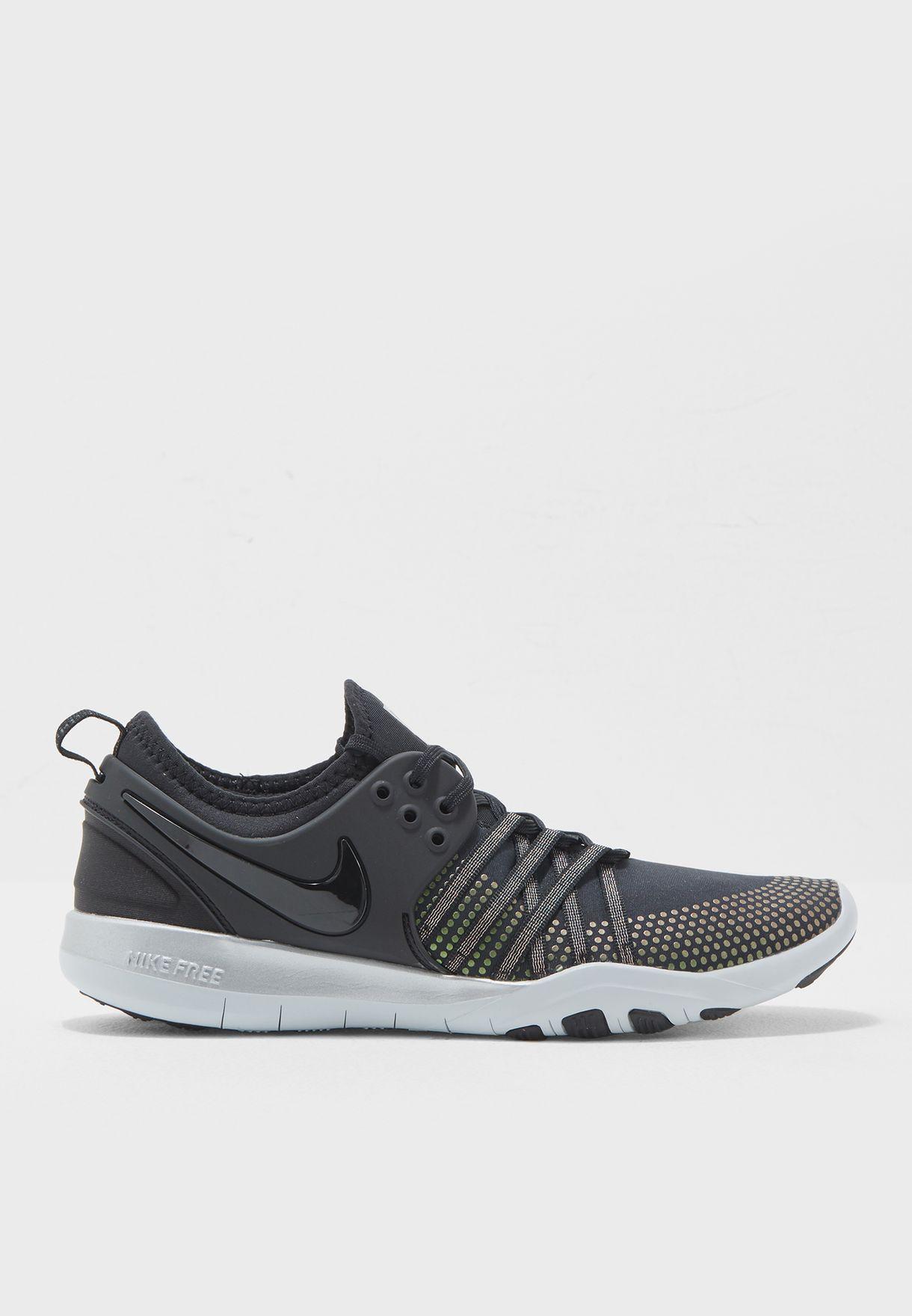 7b070f362c5eb Shop Nike black Free Tr 7 Metallic 922844-001 for Women in UAE ...
