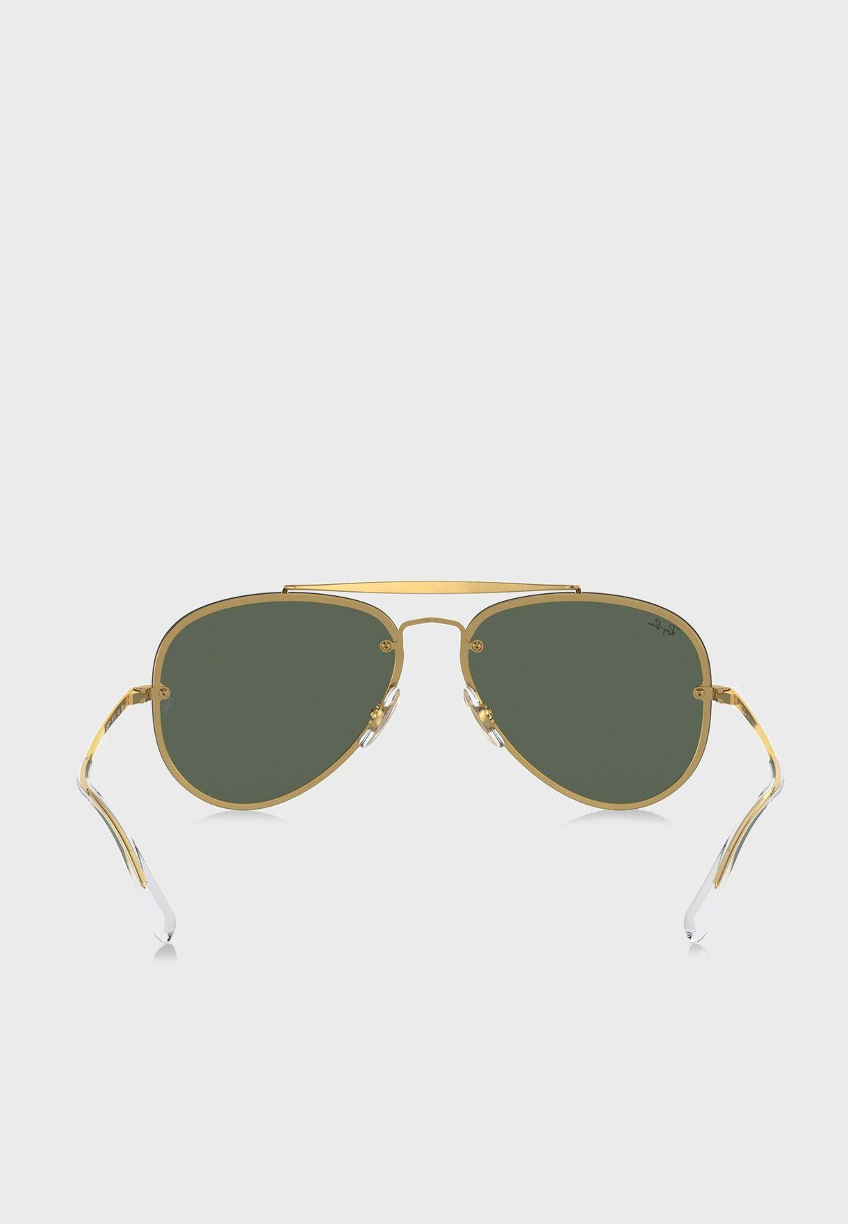 نظارة شمسية بقوس حاجب